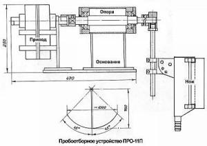 Пробоотборник маятниковый «ПРО-11П»